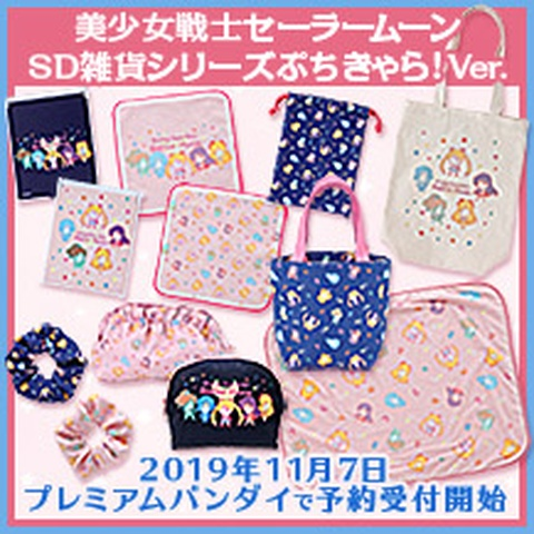 Sailor Moon Petit Chara Goods