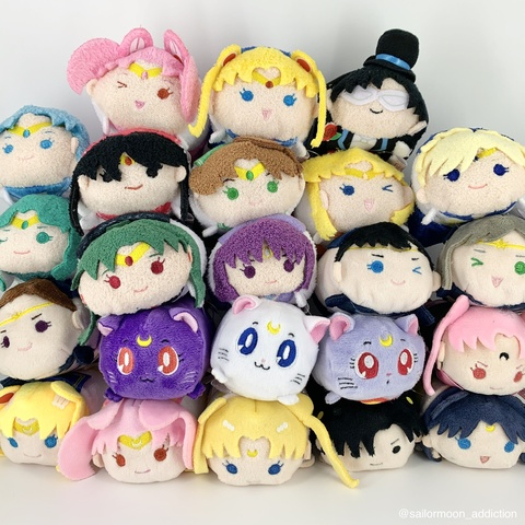 "Sailor Moon Store Exclusive Otedama ""Tsum Tsum"" Set 1-4 Review"